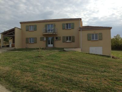 Photo for Modern 6 bedroom villa with private pool, village location,but  close to shops
