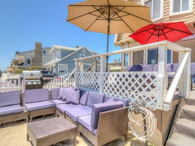 "Photo for ""Surf Cottage"" (Upper), The Oceanfront And Boardwalk Beach Vacation Legend"