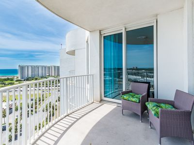 Photo for ☀Palms Resort 11212 Jr 2BR/2BA☀GR8 Rates-Oct 18 to 20 $514 Total! Lagoon Pool!