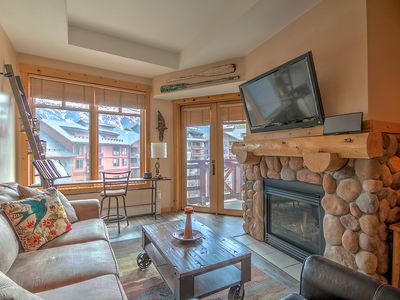 Photo for Copper Cabin With A Half Pipe View!