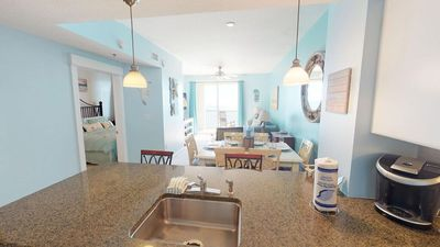 Photo for GP 1306 Gulf Front 2 bed 2 bath sleeps 8 Master on Gulf must see
