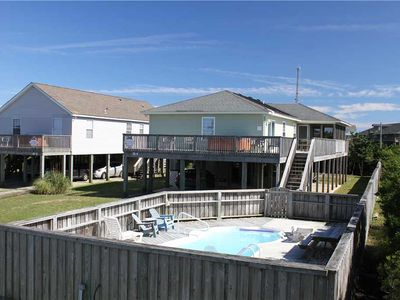 Photo for Oceanside in Rodanthe w/Pool&HotTub, PetFriendly