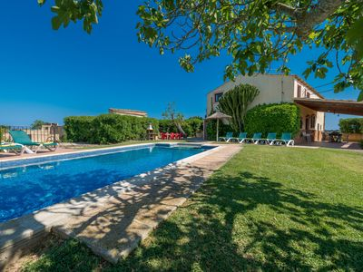 Photo for Cas Murero, finca with private pool, renovated and near the beach