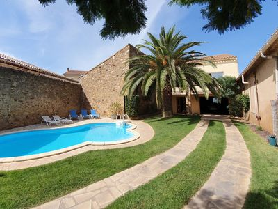 Photo for Spacious Villa in Languedoc-Roussillon with private Swimming Pool