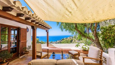 Photo for Spectacular holiday villa in Granada province, with a snug outdoor chill-out area