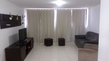 Excellent apt in bessa 3 bedrooms and 3 wcs near beautiful beach for 8 people