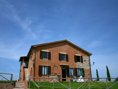 Photo for Traditional Farmhouse in Asciano with Swimming Pool