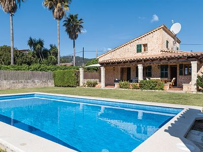 Photo for Villa, close to beaches and ancient Roman town, w/ pool + shaded terrace