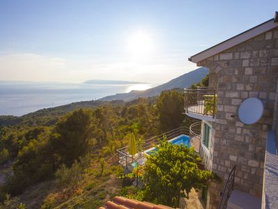 Photo for FAMILY HOLIDAY at a special price! House with pool, sea view 5 bedrooms