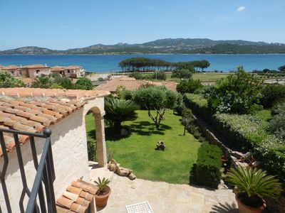 Photo for Independent villa with private garden and wide sea view