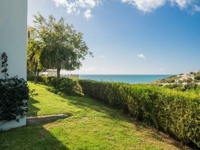 Photo for Porto do Mos Bright Garden Studio with sea view over the bay / Porto de Mos
