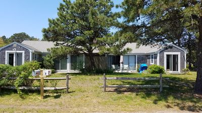 Photo for Walk to Seagull Beach from this Pristine Cape Cod Getaway Home