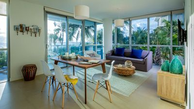 Photo for Domio | Miami Beach | Beachfront Ocean View + Balcony | 1 BR