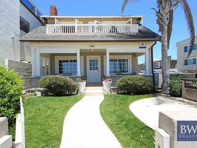 Photo for Ideal Location!  Single Family Oceanfront. Huge Front Yard & Porch! (68173)