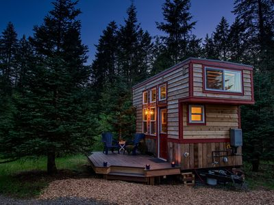 Photo for Secluded Respite; Tiny Home near Portland