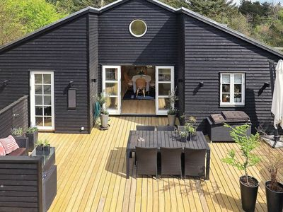 Photo for Pleasant Holiday Home in Jutland Denmark with Whirlpool