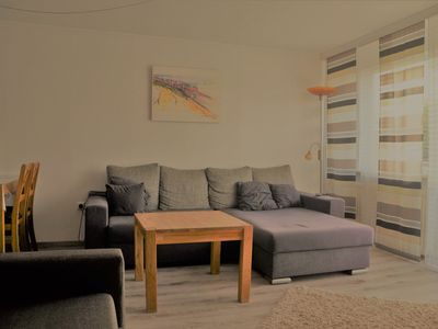 Photo for Peacefully located apartment, a few minutes from the beach and the city center