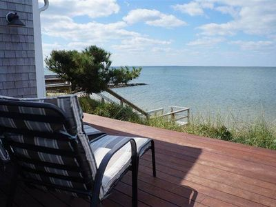 Photo for Indian Neck 2BD Waterfront Home--Direct Beach Access, Amazing Water Views