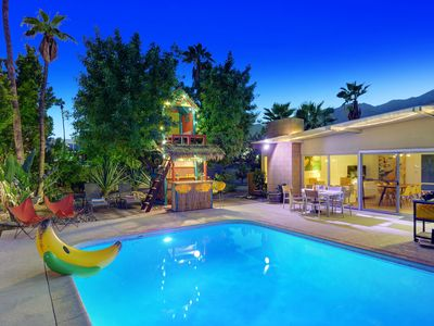 """Photo for This 1958 """"Alexander"""" 3BR/2Bath, pool, located in minutes from downtown!"""