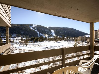 Photo for Pet Friendly- Walk, Shuttle to Keystone Slopes, Ski School, Dining, Activities. Deck, Slope Views