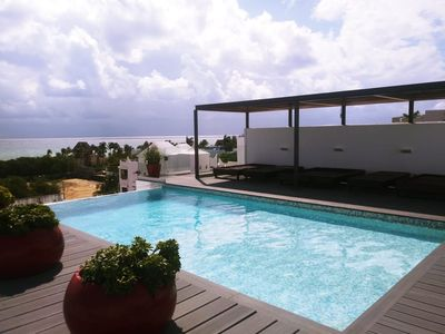 Photo for 3 Bedrooms apartment in the heart of Playa del Carmen with Pool and Jacuzzi