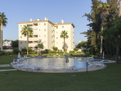 Photo for 2 bedroom apartment in Vilamoura with swimming pool and tennis court