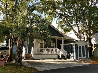 Photo for New!!  Beach Bungalow in Ocean Lakes Campground by Buffalo Mountain Getaway