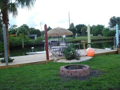 Photo for Waterfront house, fishing,  boating, gulf access, boat ramp on property