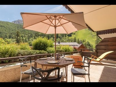 Photo for Beautiful apartment at the foot of the slopes.
