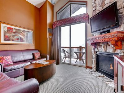 Photo for *FREE SKI RENTAL* Luxe Penthouse w/ Mountain Views, Fireplace, Steam Shower & Full Resort Amenities