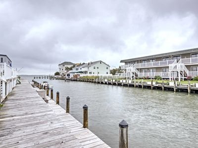 Photo for Waterfront Ocean City Townhome - Bay Side