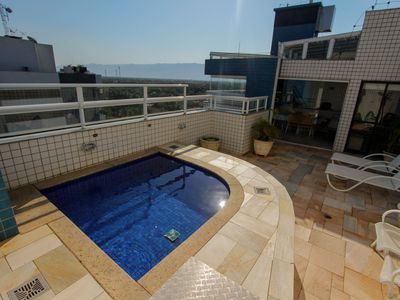 Photo for Duplex, pool, gourmet and panoramic view