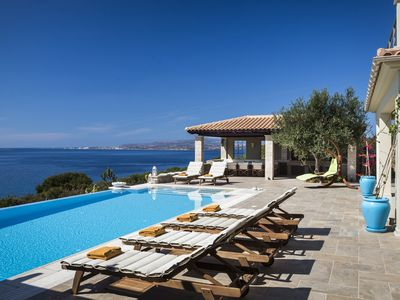 Photo for Armorel Platinum, large luxury villa with amazing sea views!