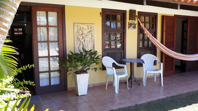 Photo for 350mts from GERIBÁ beach, house w / 3qts in condominium w / pool, Wi-FI, TV HD OI.