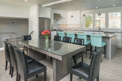 Gorgeous dining room for entertaining and enjoying great family meals