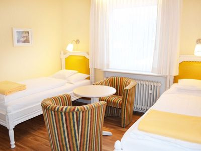 Photo for Standard Twin Room - Pension Am Kurpark
