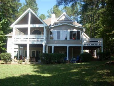 Photo for Reynolds Lake Oconee: Large Lakefront Home - Great Reviews!