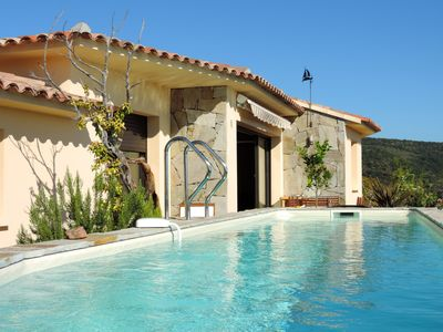 Photo for South Corsica Villa Panoramic Sea view with pool and spa