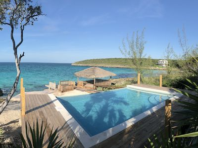 Photo for Luxury Oceanfront Home on Caribbean w/ Sunset View, Dock, Kayaks, NEW POOL!