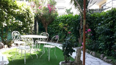 Photo for HAVEN OF PEACE charming garden rental 2 months maxi in residential area