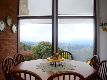 House in condominium for up to 15 people.