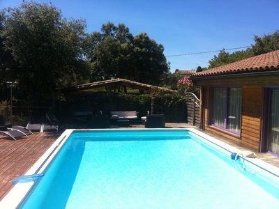 Photo for Villa near Uzès, 230m², 16 pers. Max, Access PMR