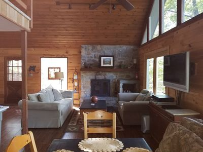 Photo for Beautiful 3 Br Pet Friendly Mountain Home- Sleeps 6