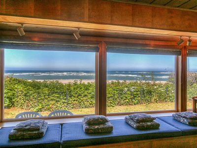 Photo for Warm, Inviting Family Home Gives You Panoramic Cliff Views of the Waldport Beach!
