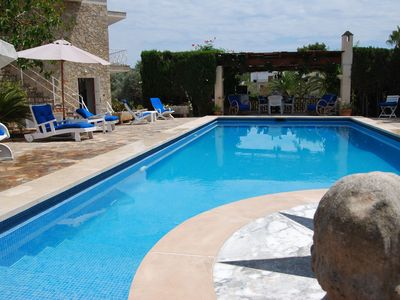 Photo for Lovely holiday villa in the unspoilt, scenic coastal port of Portocolom.
