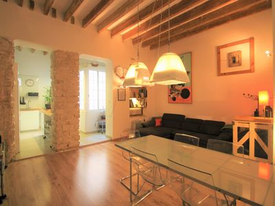 Photo for Loft with exquisite decoration in Alicante A103