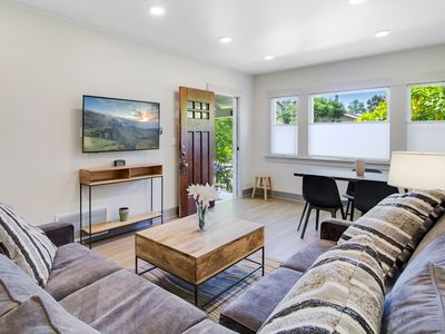 Photo for Central Berkeley Modern House  //  Walk to UC (Cal), Dwtn+ // Private Backyard