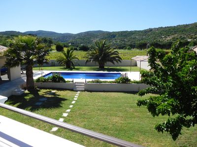 Photo for AIR-CONDITIONED,4 BEDROOMED, 4 BATHROOMED VILLA WITH HEATED POOL +  NR ST TROPEZ