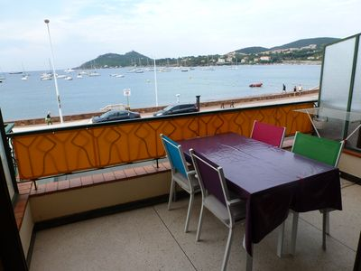 Photo for Superb 2 room apartment facing the sea and close to all amenities
