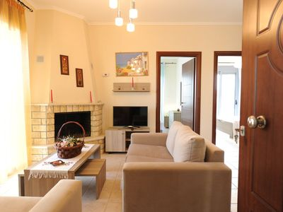 Photo for 2BR Apartment Vacation Rental in Nea Moudania